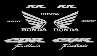 Picture of Honda CBR 1000 RR Fireblade  replacement Decals / Stickers