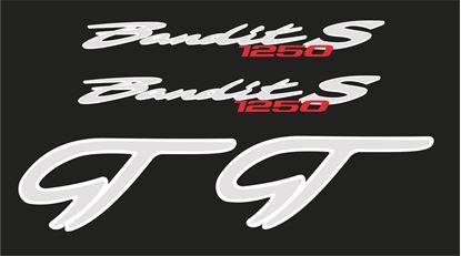 Picture of Suzuki Bandit 1250S GT Decals Stickers
