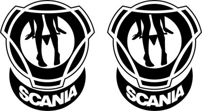 Picture of Scania Panel Decals / Stickers