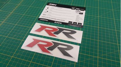"Picture of Honda Integra / Accord /  Civic Type ""RR"" Decals / Stickers"