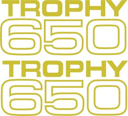 Picture of Triumph Trophy 600 Decals / Stickers
