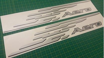Picture of Mazda Bongo Friendee Aero replacement side Decals / Stickers