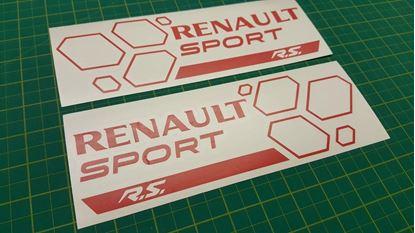 Picture of Renault Clio / Megane Sport R.S. General panel  Decals  / Sticker