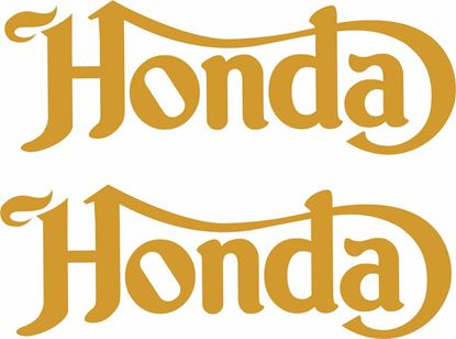 Picture of Honda Vintage / Classic / Cafe racer  Decal / Sticker