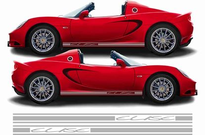 Picture of Lotus Elise side Stripes  / Stickers