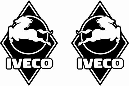 Picture of Iveco Stralis / Strator / Cargo  front corner Panel Decals / Stickers