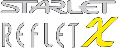 Picture of Toyota Starlet Reflet X replacement hatch / tailgate Decal / Sticker