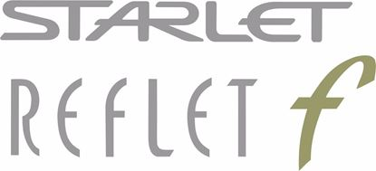 Picture of Toyota Starlet Reflet F replacement hatch / tailgate Decal / Sticker