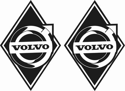 Picture of Volvo front corner panel  Stickers / Decals