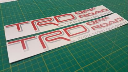 Picture of Toyota TRD Decals / Stickers
