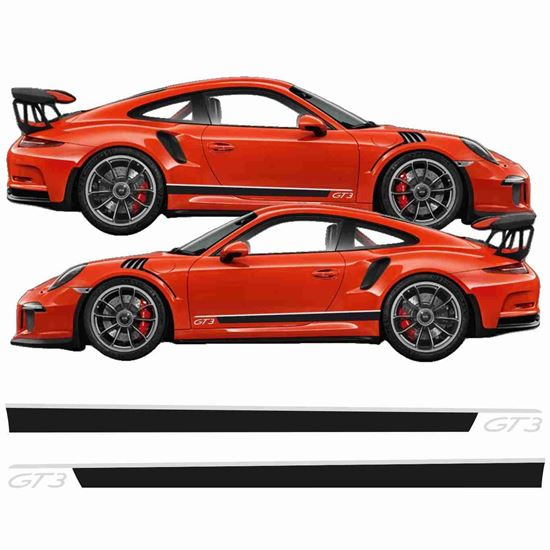 Picture of Porsche 911 / 991 GT3  side Stripes / Stickers