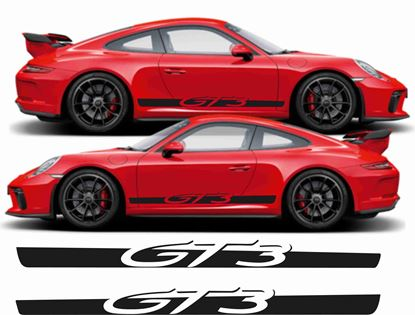 Picture of Porsche 991 GT3  side Stripes / Stickers