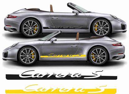 Picture of Porsche 911 / 991 Carrera S  side Stripes / Stickers