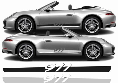 Picture of Porsche 911 / 991  side Stripes / Stickers