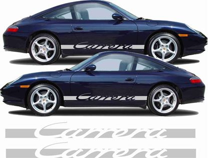Picture of Porsche 996 Carrera side Stripes / Stickers