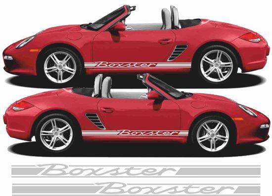 Zen Graphics Porsche 981 Boxster Classic 3 Side Stripes