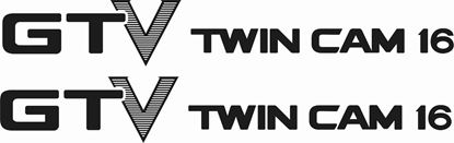 Picture of Toyota AE86 GTV Twin cam 16  replacement lower side Decals / Stickers