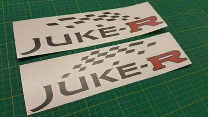 Picture of Nissan Juke-R  Side Decals / Stickers