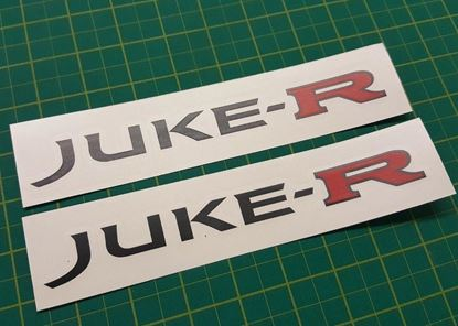 Picture of Nissan Juke-R   Decals / Stickers
