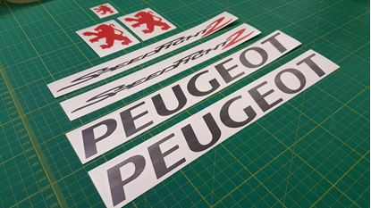 Picture of Peugeot Speed Fight 2 panel Decals / Stickers kit
