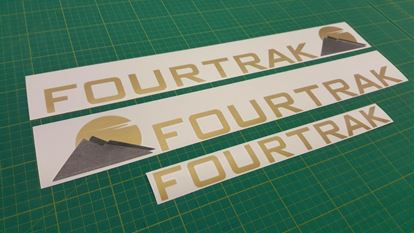 Picture of Daihatsu Fourtrak replacement Decals / Stickers