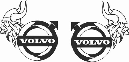 Volvo Viking panel Stickers / Decals