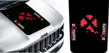 "Picture of Jeep Renegade |""Extreme Off Road"" Bonnet / Hood Decal / Sticker"
