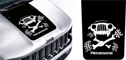 Picture of Jeep Renegade Bonnet / Hood Decal / Sticker