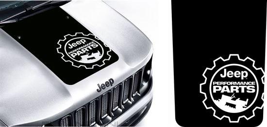Jeep Performance Parts >> Jeep Renegade Jeep Performance Parts Bonnet Hood Decal Sticker
