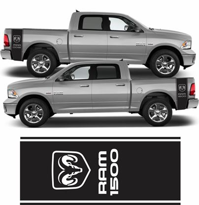 Picture of Dodge Ram 1500 Side bed Stripes  / Stickers