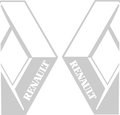 Picture of Renault  panel / glass  edge Decals / Stickers