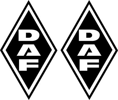 Picture of DAF Diamond front corner panel  Decals / Stickers