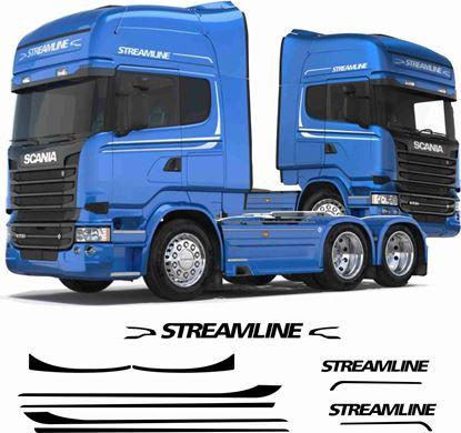 "Picture of Scania R series ""Streamline"" Cab Graphics"