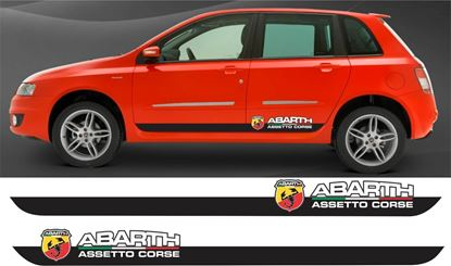 Picture of Fiat Stilo Abarth side Stripes / Stickers