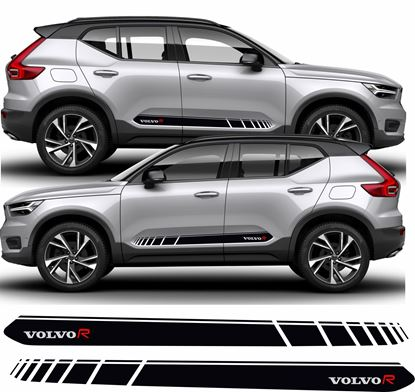 Picture of Volvo XC40 R Design side Stripes / Stickers