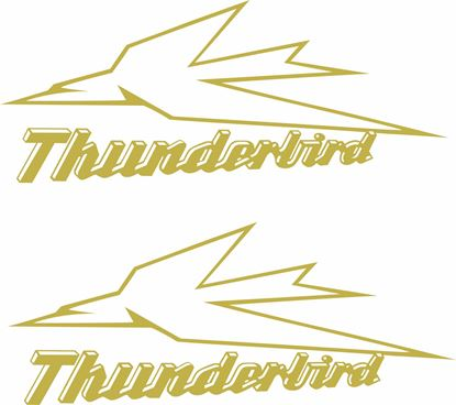 "Picture of Triumph 650 ""Thunderbird"" Decals / Stickers"