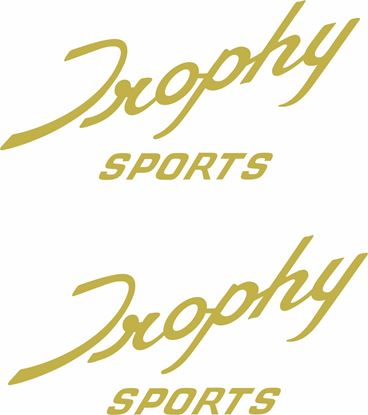 "Picture of Triumph ""Trophy Sports"" Decals / Stickers"
