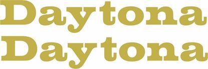 "Picture of Triumph ""Daytona"" Decals / Stickers"