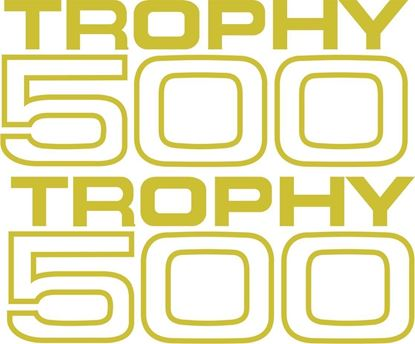 Picture of Triumph Trophy 500 Decals / Stickers