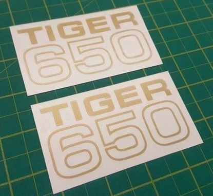 "Picture of Triumph ""Tiger 650"" Decals / Stickers"