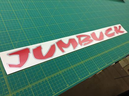 Picture of Proton Jumbuck replacement rear lid Decal / Sticker