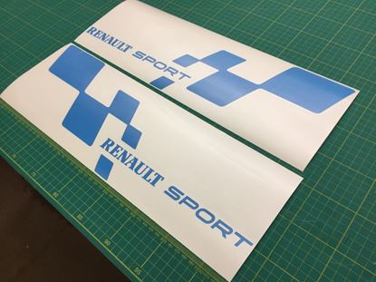 "Picture of Renault Clio / Megane / Twingo  ""Renault Sport""  Decals / Stickers"