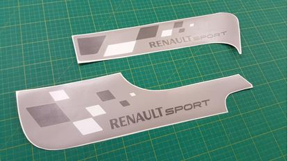 Picture of Renault Clio R27 / 197 front & Rear Decals / Stickers