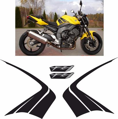 Picture of Yamaha FZ1 Fazer 2006 Replacement Decals / Stickers