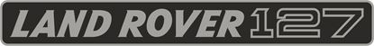 Picture of Land Rover Defender 127 Classic  replacement Grill Decal / Sticker