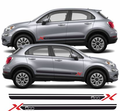 Picture of Fiat 500X side Stripes / Stickers