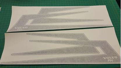 "Picture of Volvo  ""FH"" Top side Boomerang  Decals / Stickers"