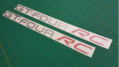 Picture of Toyota Celica GT-Four RC replacement side Decals / Stickers