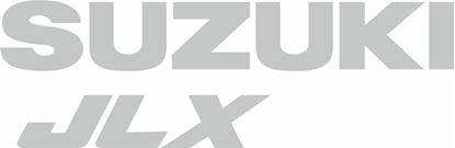 Picture of Suzuki Grand Vitara JLX replacement rear door Decals / Stickers