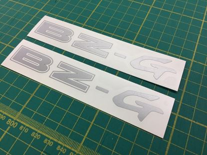 Picture of Toyota corolla AE111 BZ-G replacement Decals Stickers